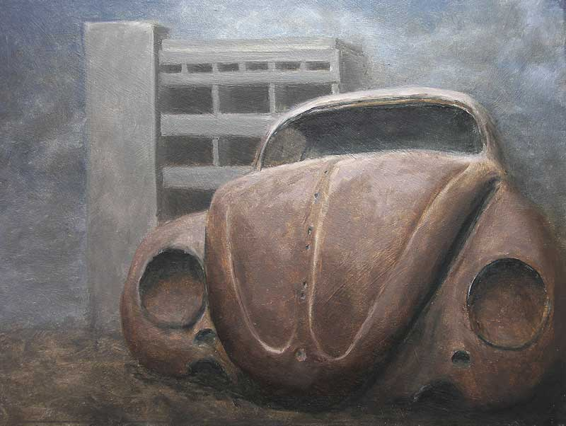 Study for Reflection, 2009, Oil on panel, 300 x 400mm